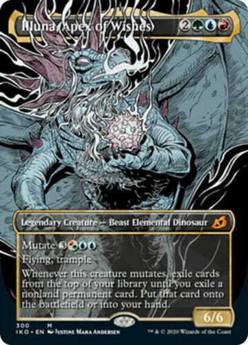 SHOWCASE,IKORIA Lair of Behemoths,MTG Apex of Wishes Illuna