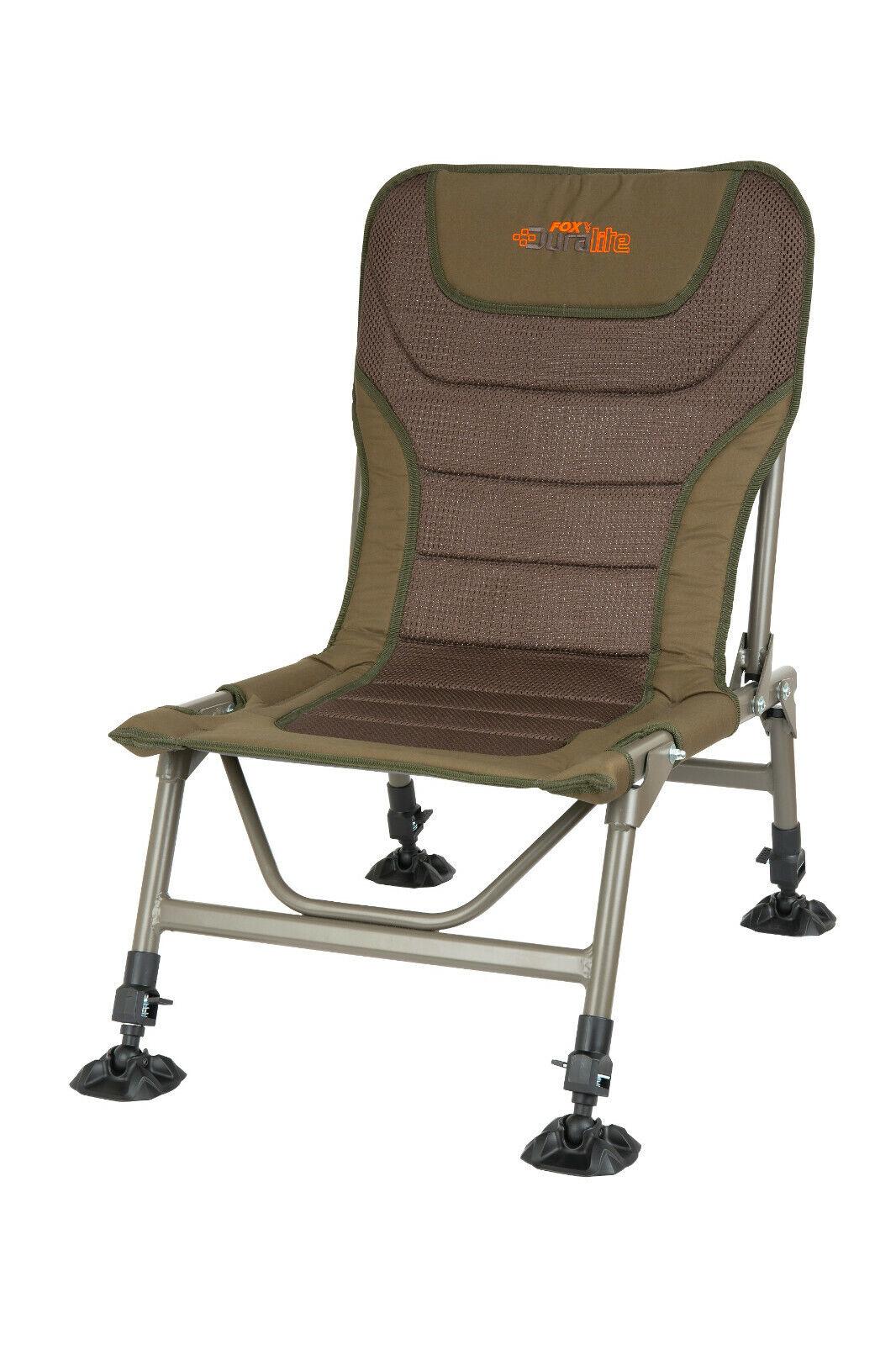 Fox Duralite XL Chair CBC073 Carpchair Karpfenstuhl Stuhl Angelstuhl  Chair