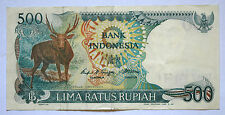 INDONESIA: 500 Rupiah banknote since 1988 in VF Condition.