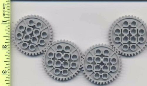 LEGO x 4 Light Bluish Gray Technic Gear 40 Tooth Mindstorms