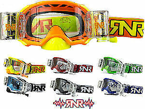 Rip N Roll RNR Platinum Motocross WVS Roll Off Goggles - Midlands Mx