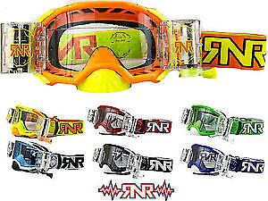 Rip N Roll RNR Platinum Motocross WVS Roll Off Goggles - Midlands Mx