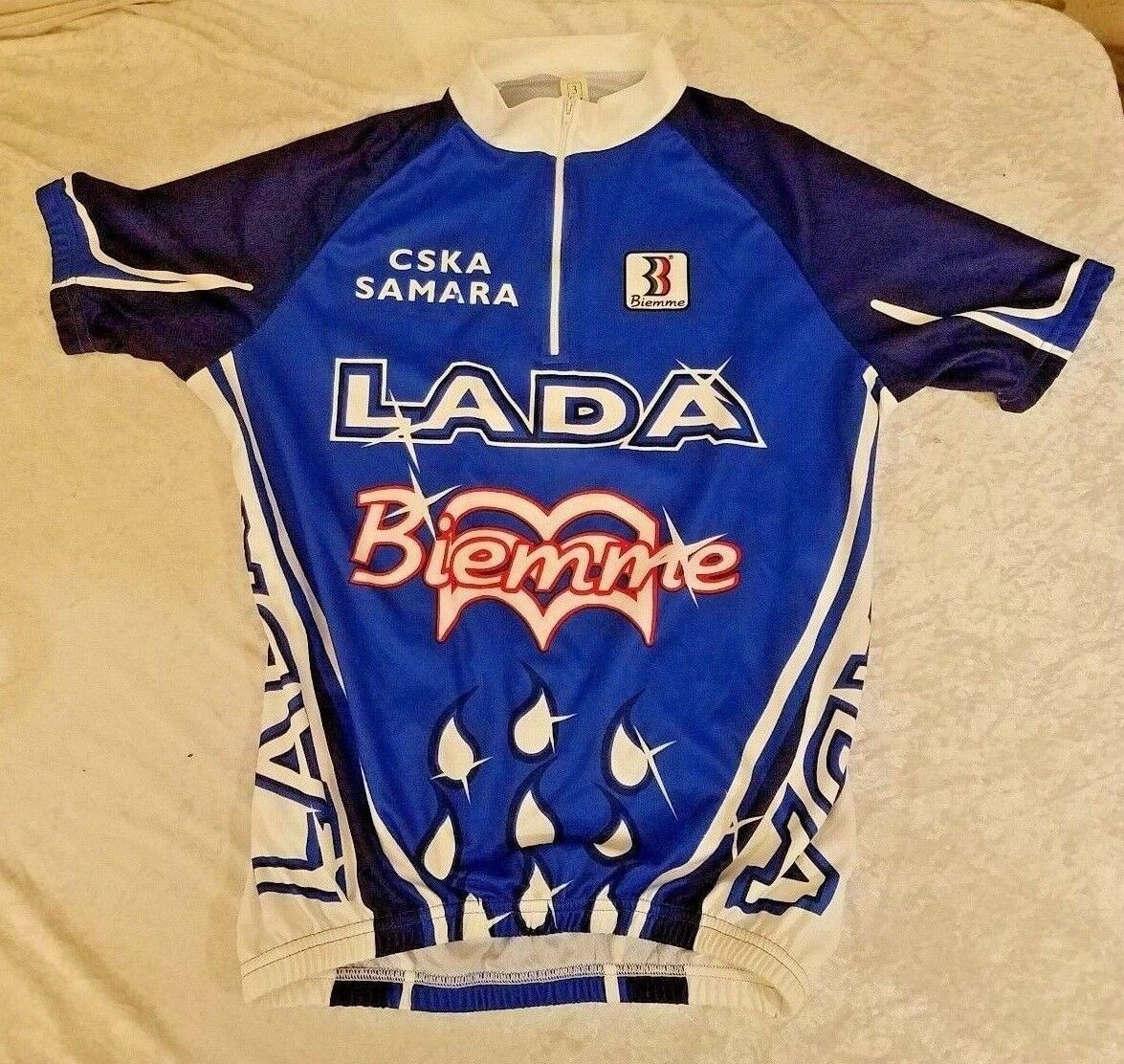 Cycling Bicycling Jersey Biemme Cska Samara LADA M-3-48