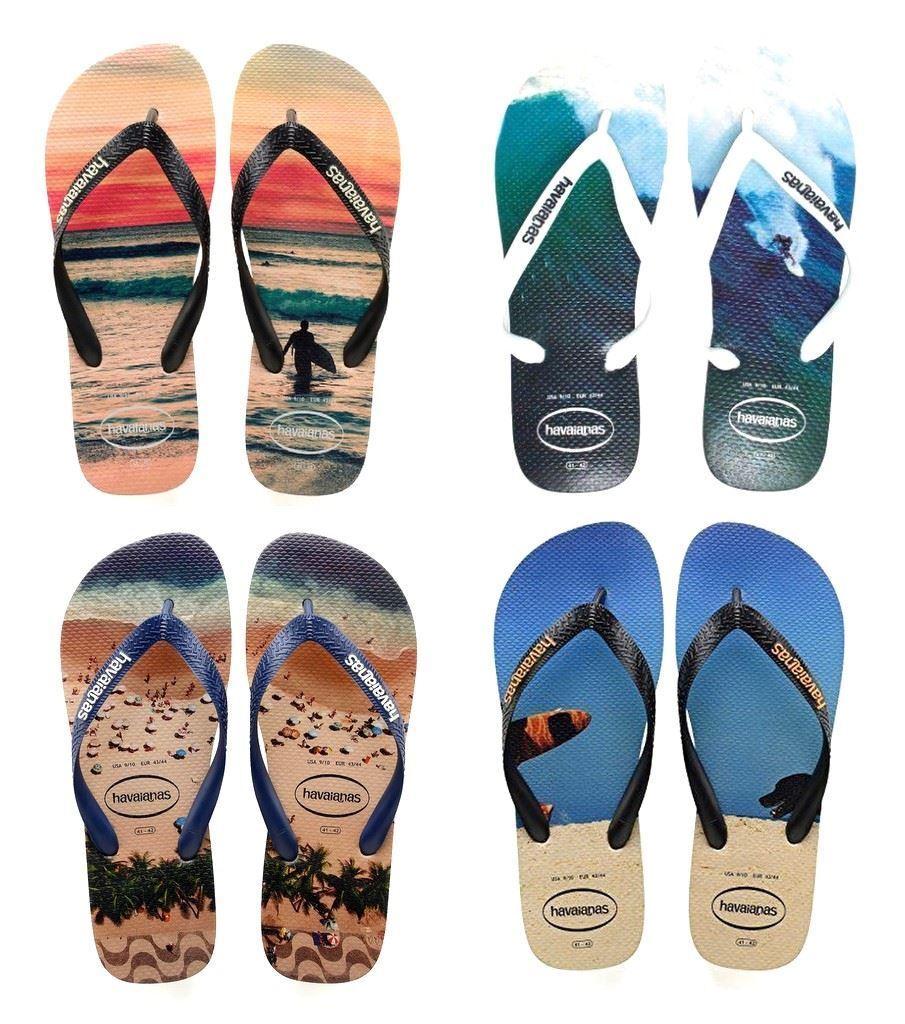 adc0fe3767147d Havaianas Men Hype Photo Print Print Print Rubber Flip Flops All Sizes  Colors 22307d