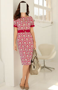 Sand Raspberry 48 floreale con Gr stampa 0118909259 Dress Marche 50 XwUTOI