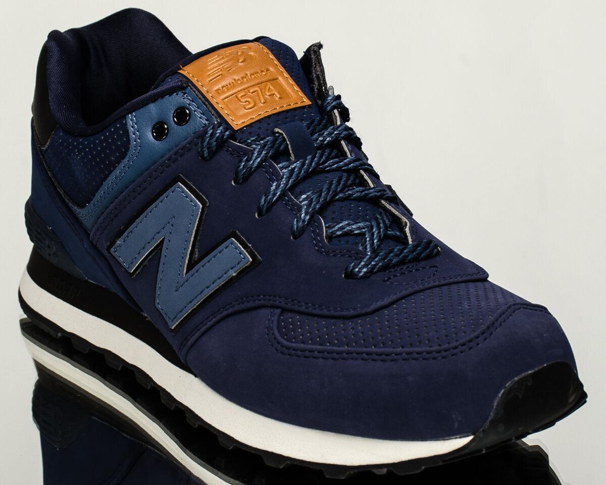 New Balance 574 Nb Nb574 Herren Lifestyle Turnschuhe Blau Letzte Größe 7,5 Us