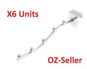 6-Waterfall-Garment-clothing-Hanger-Rack-5-Bead-for-Market-Stall-Gazebo-Marquee