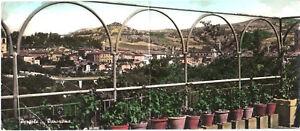 CARTOLINA-PANORAMICA-PERGOLA-PANORAMA-1958