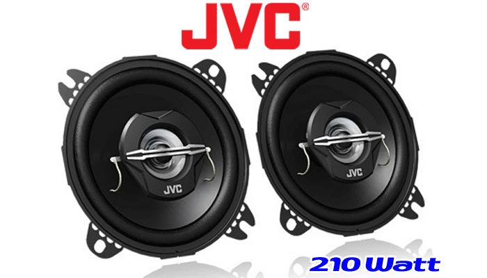 JVC altavoces para Renault Kangoo I 1997-2007 salpicadero en la parte delantera