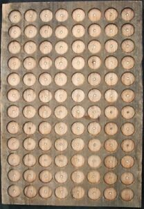 BARNWOOD-PATHTAG-GEOCOIN-DISPLAY-HOLDS-96-TAGS-UNIQUE-amp-MADE-IN-USA