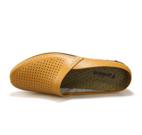 Leather Vogue Soft Men Flat Mocassino Driving Slip on Leisure Mocassino Shoes Comfy wqwTa0