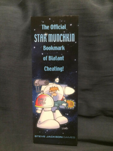 Official Star Munchkin Bookmark of Blatant Cheating Narrow Version
