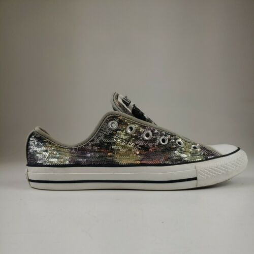 Converse All Star Camo Sequin Mens Size 8 Womens S