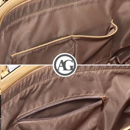 New Ladies Faux Leather Celebrity Style Shoulder Handbag Women Fashion Tote Bags
