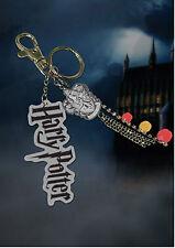 Official Harry Potter Gryffindor Crest Keychain Bag Clip Charm Film TV Fan Gift