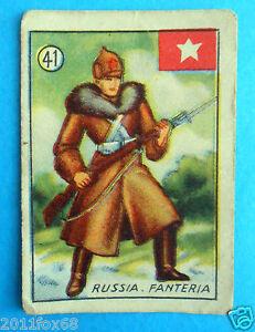 figurines cromos figurine v.a.v. vav la guerra nostra 41 russia fanteria russie - Italia - figurines cromos figurine v.a.v. vav la guerra nostra 41 russia fanteria russie - Italia