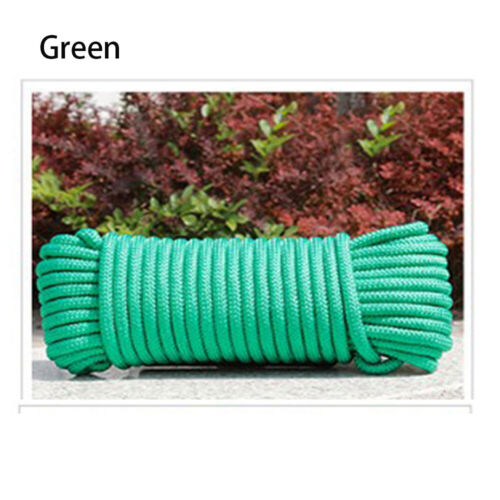 5//10//20m 10 Colors Paracord 550 Rope Parachute Cord For Hiking Camping UK