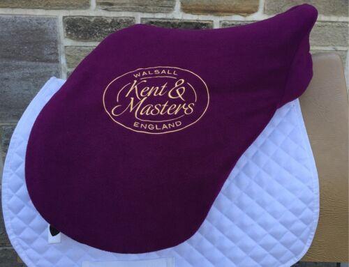 """Genuine KENT /& Maîtres De Luxe Polaire Selle Couverture Convient 16.5/"""" à 18/"""" Saddles"""