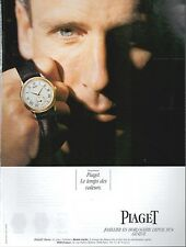 ▬► PUBLICITE ADVERTISING AD WATCH MONTRE PIAGET 1993