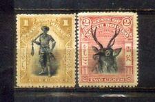 1897 Malaya North Borneo 2 Mint Stamps MH