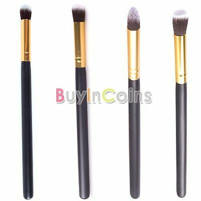 New Exquisite Gold Synthetic Small Cosmetic Blending Foundation Concealer Brush