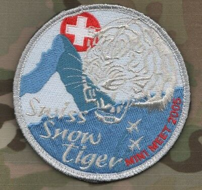 NTM NATO TIGER MEET 2005 PREROV MINI WHITE TIGER MEET