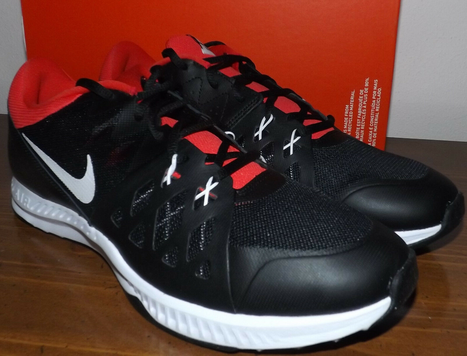 NIKE AIR EPIC SPEED TR Negro Rojo Talla Talla Talla 11 para hombres II nuevo zapatos para correr 8d9897