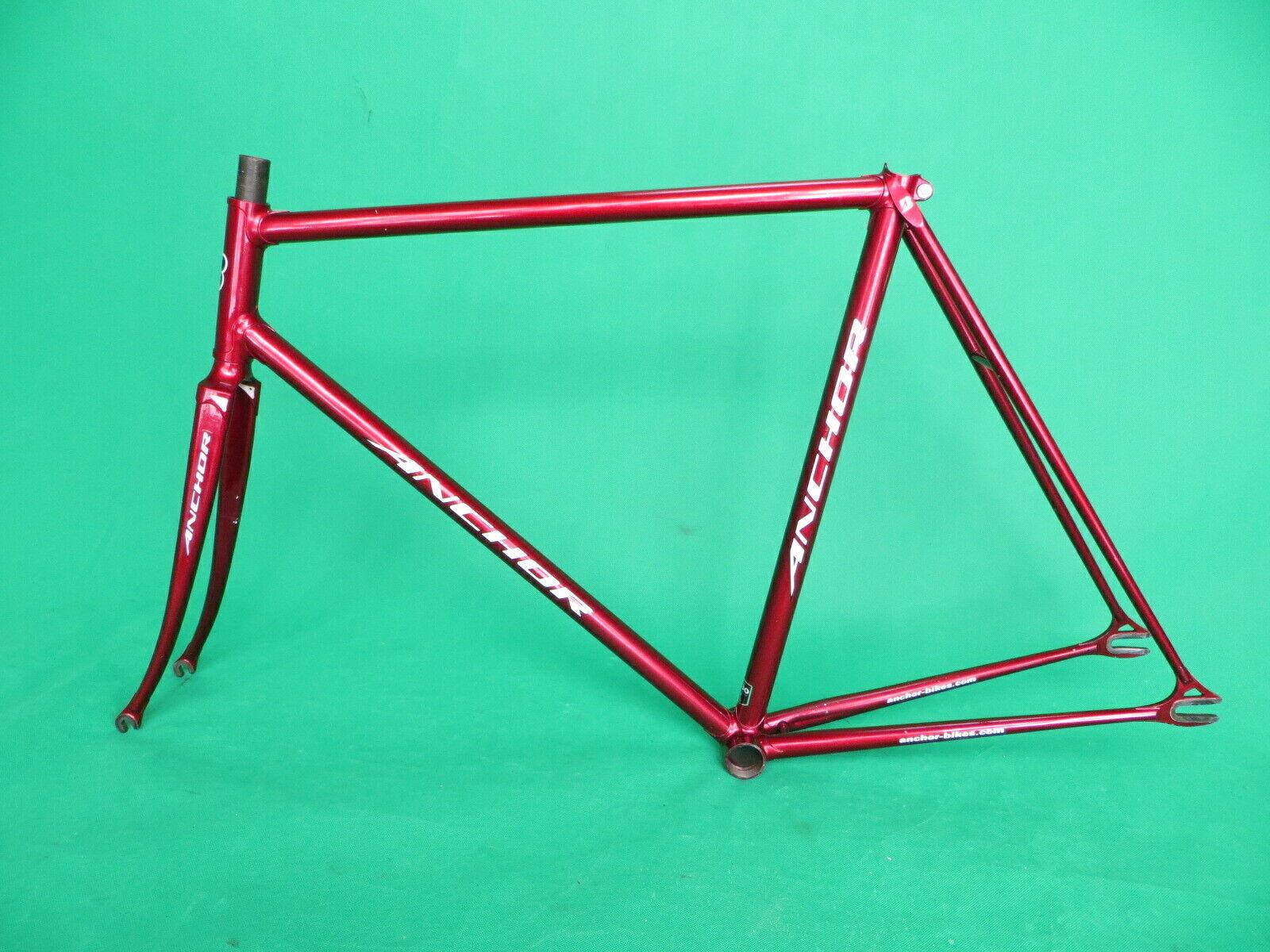 Anchor Bridgestone NJS Keirin Pista Marco Bicicleta De Pista Fixie 54.5cm