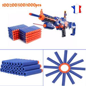 100 Flechettes Balles pour NERF recharge pour pistolet Jouet enfant de tir