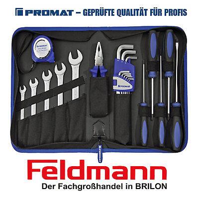 PROMAT Werkzeugmappe Kompakt Werkzeugtasche Handwerker Industriequalität Neu