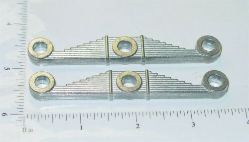 Pair Smith Miller Alloy Cast Leaf Spring Style Trailer Bogies Toy Part SMP-022