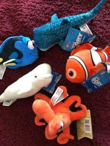 Disney Finding Dory six Plush Soft toys