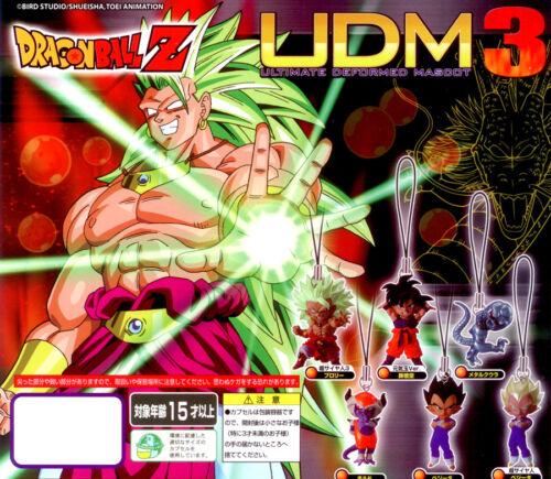 Bandai Dragonball Kai Z Heroes UDM 3 Ultimate Deformed Phone Strap Figure