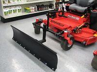 Zero Turn Mower Snow Plow 5 Ft Wide Snow Blade