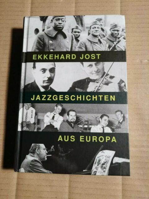 JOST - JAZZGESCHICHTEN AUS EUROPA - WOLKE 2012 - BUCH + CD (ungespielt) (BL71)