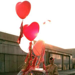 Giant Heart Shape Latex Balloons 36 inch Valentine/'s Gift Wedding Decor