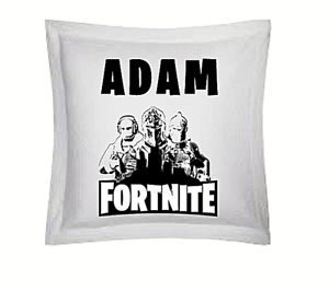 Fortnite Square Cushion PERFECT Gift PERSONALISED NAME