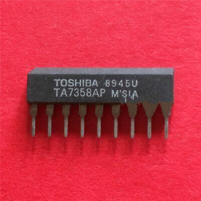 10PCS TA7358APG SIP-9 FM FRONT-END TOSHIBA NEW