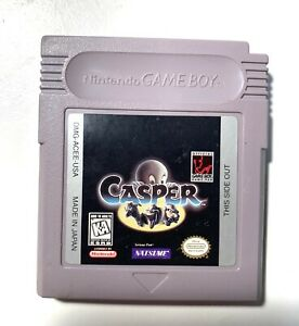 Casper ORIGINAL NINTENDO GAME BOY Tested + Working & Authentic!