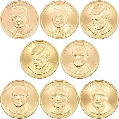 Coin Sets 2016 P&D Presidential Dollar 6 Coin Set BU Uncirculated ...