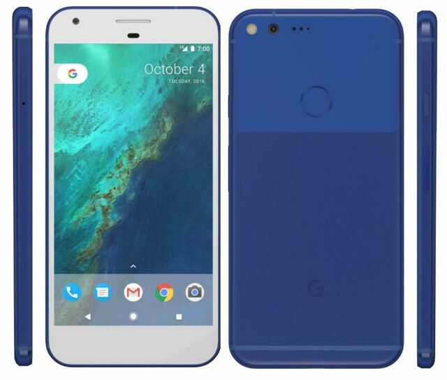 New Overstock Google Pixel XL - 32GB Really Blue GSM Unlocked for ATT T-Mobile