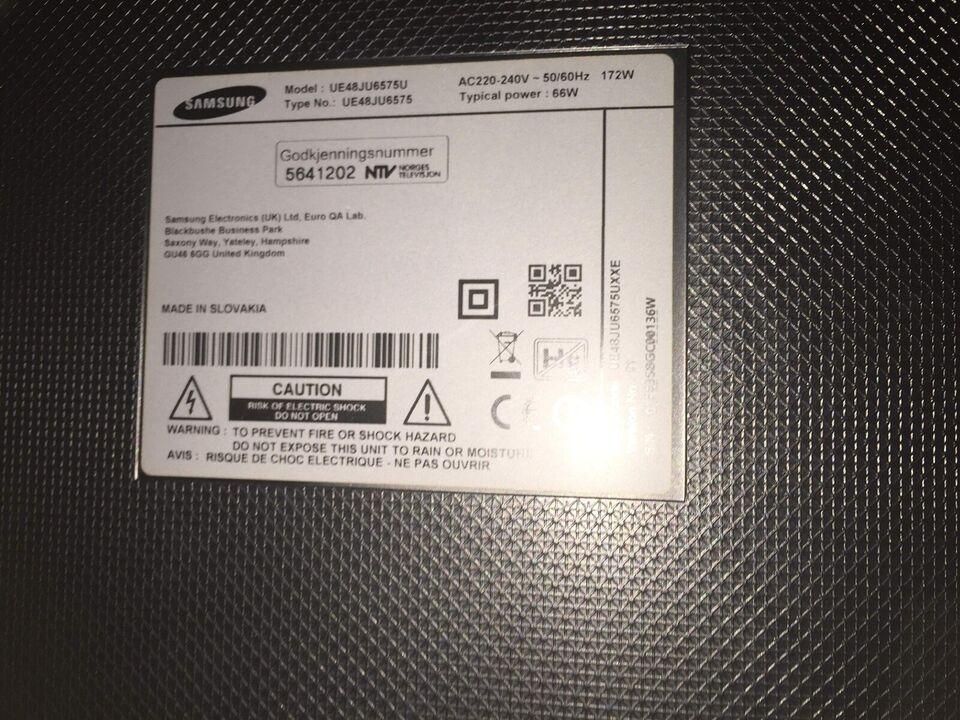 LCD, Samsung, UE48JU6575U