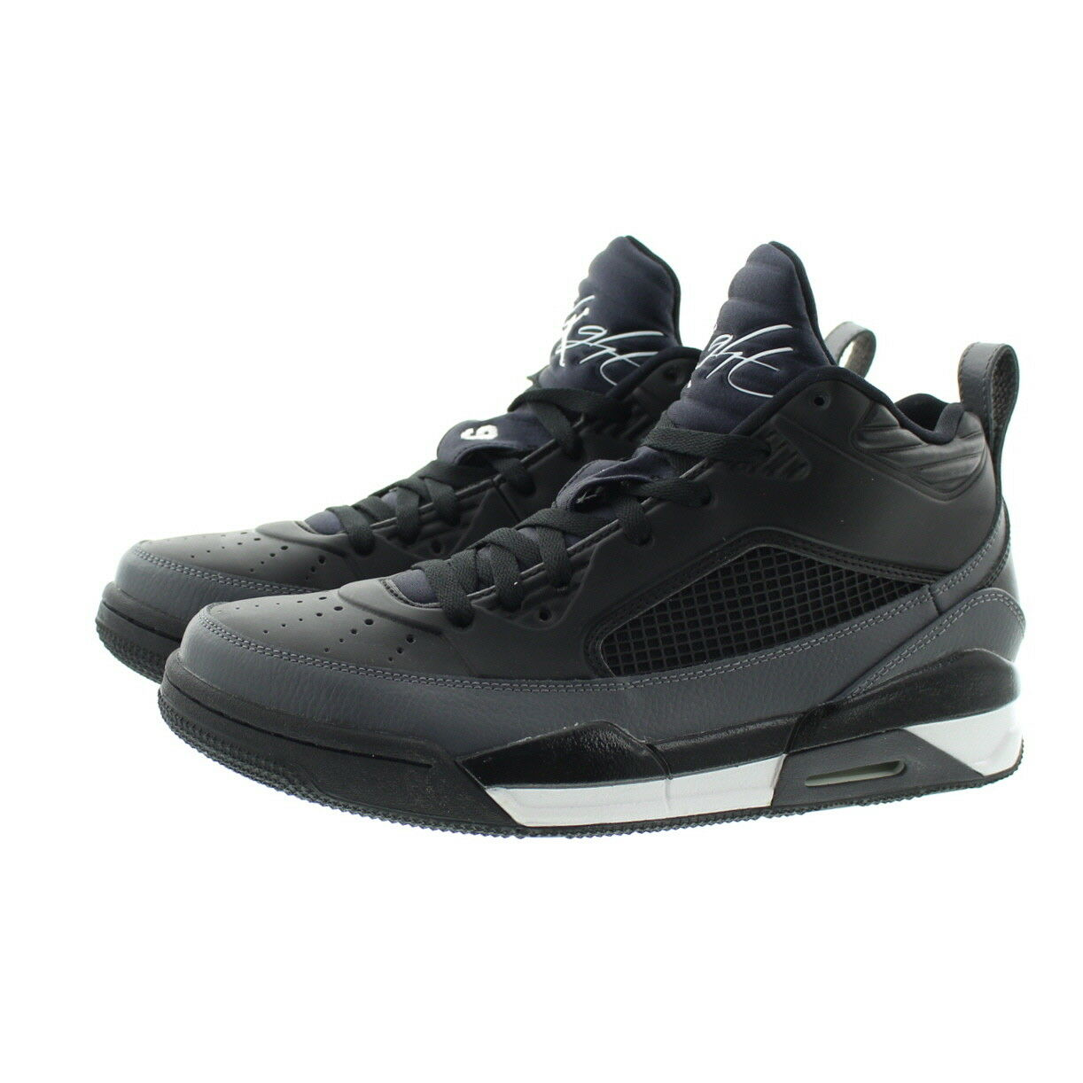 timeless design ec1a2 2e17a Nike 654262 Mens Air Air Air Jordan Flight Mid Top Basketball Athletic Shoes  Sneakers 2d0d20