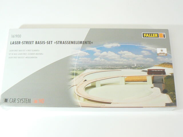 Faller H0 161900, Car System Basis Set, Straßenelemente, neu, OVP