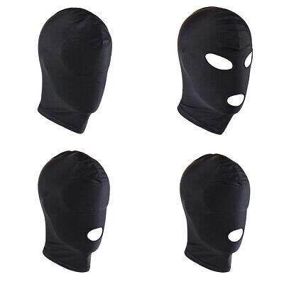 K-Men Breathable Unisex Adult Zentai Cosplay Costume Full Head Cover Hood Mask