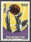 1991 ITALIA PALLACANESTRO BASKET MNH ** - ED
