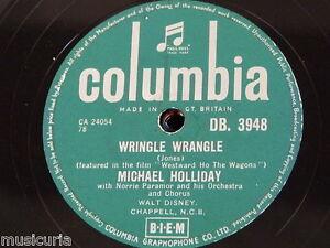 78rpm-MICHAEL-HOLLIDAY-wringle-wrangle-four-walls-DB-3948