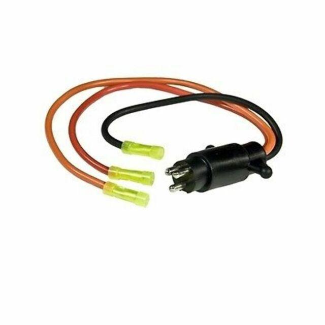 Sierra WH10500 Trolling Motor Plug 24V 10Ga 3Wire 4408