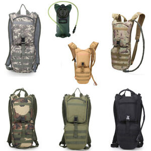 858baa2bae Image is loading 3L-Hydration-Backpack-Military-Tactical-Pack-Hunting-Hiking -