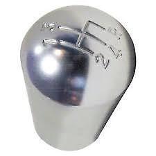 Pear shaped aluminium gear knob with shift pattern for austin mini gearstick
